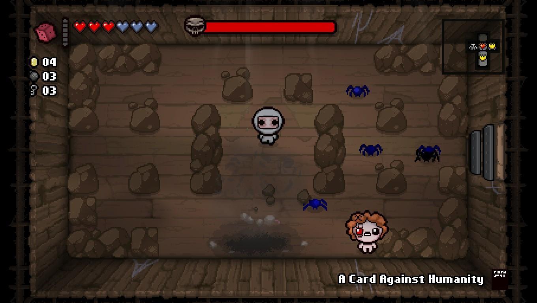 Isaac Devil Room Small Boss Room