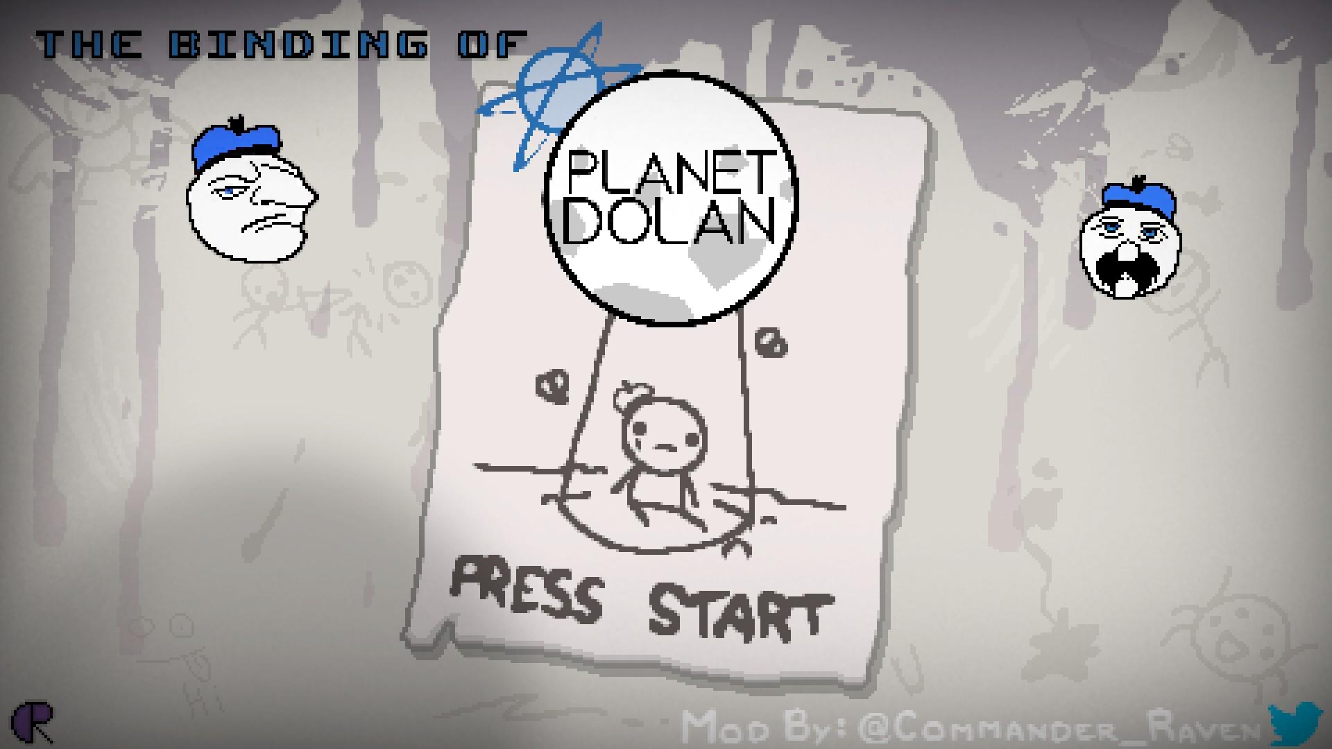 The Binding Of Planet Dolan Modding Of Isaac
