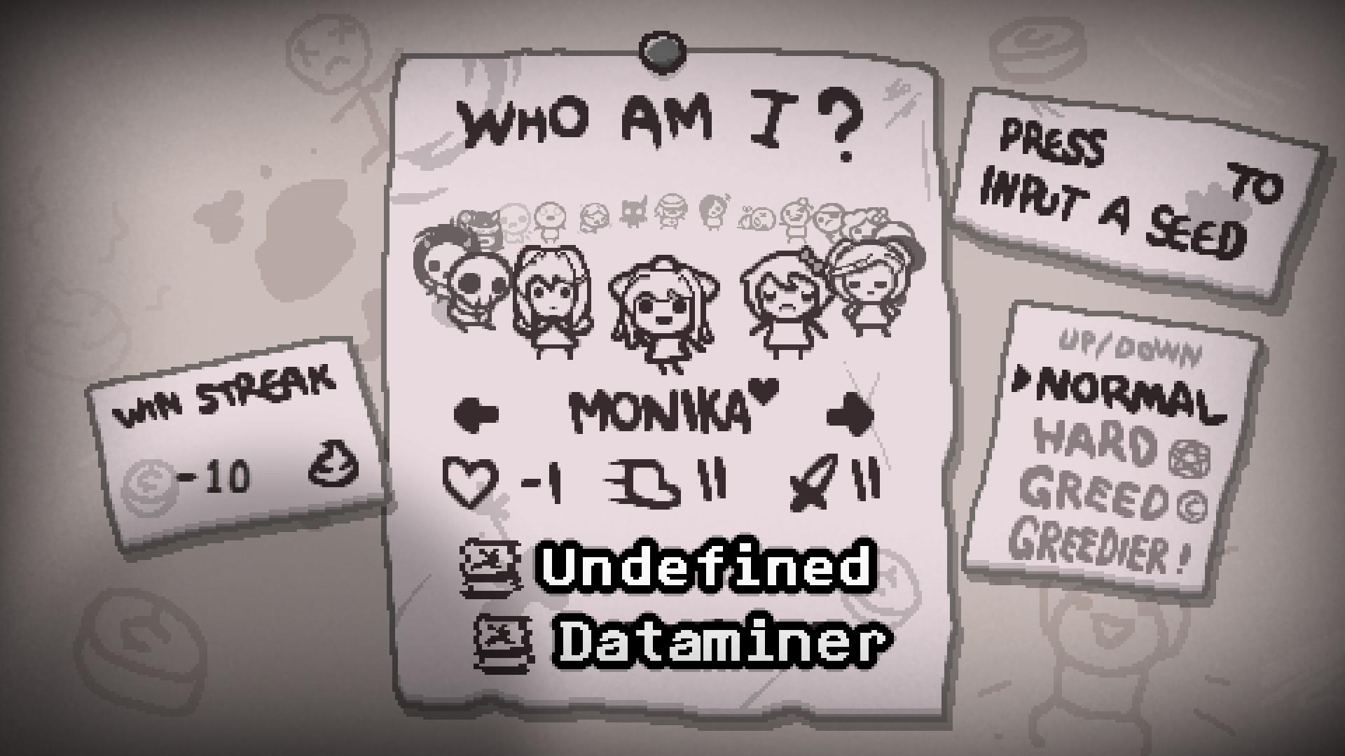 DDLC - The Complete Isaac Mod (Ab+) - Modding of Isaac