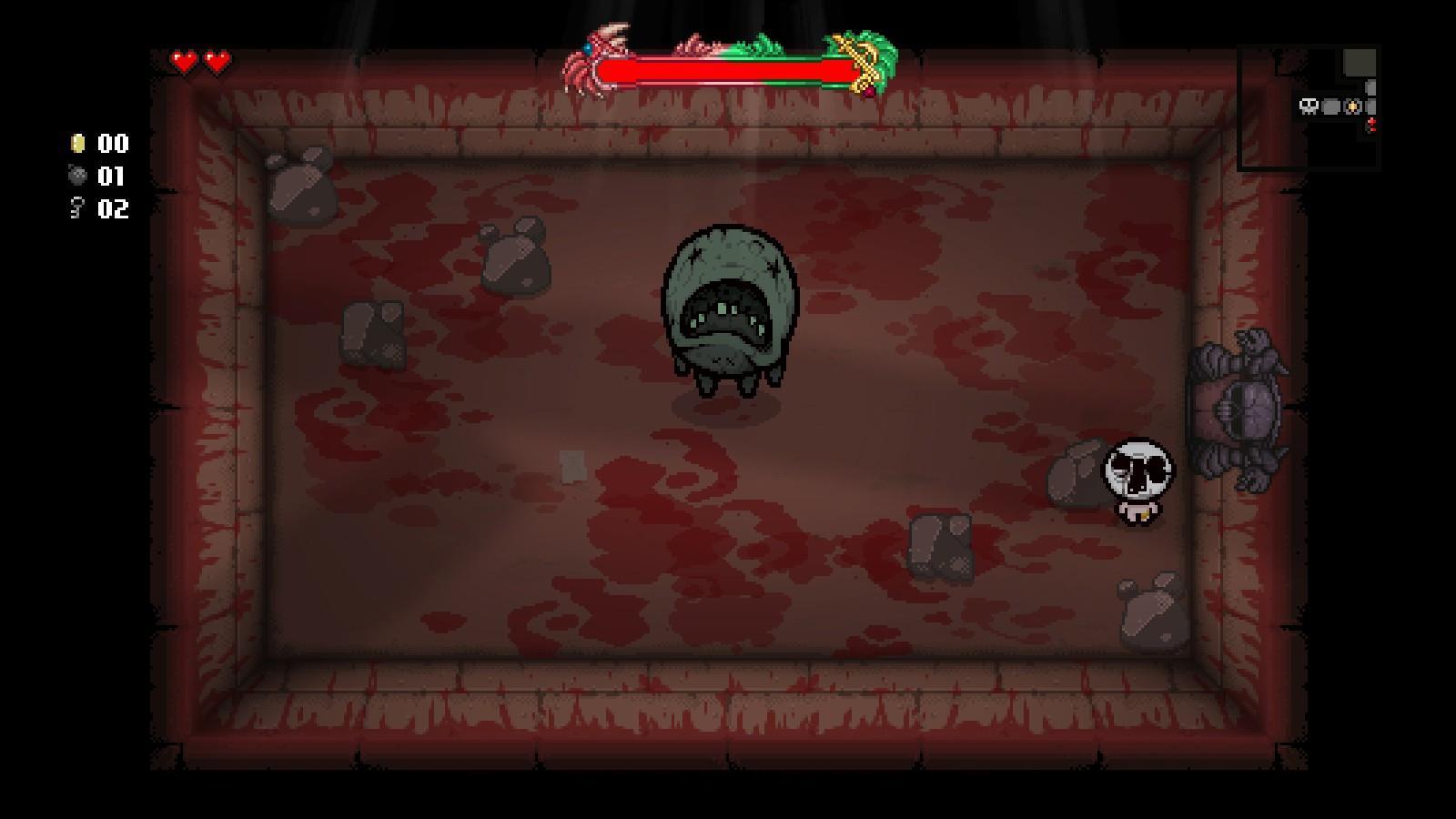 Terraria Crimson boss health bar - Modding of Isaac