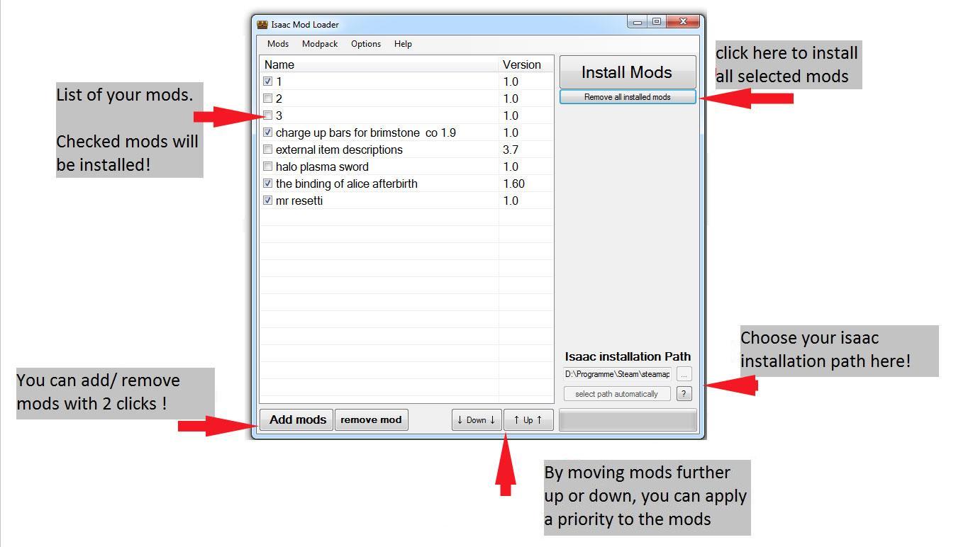 binding of isaac external item descriptions download