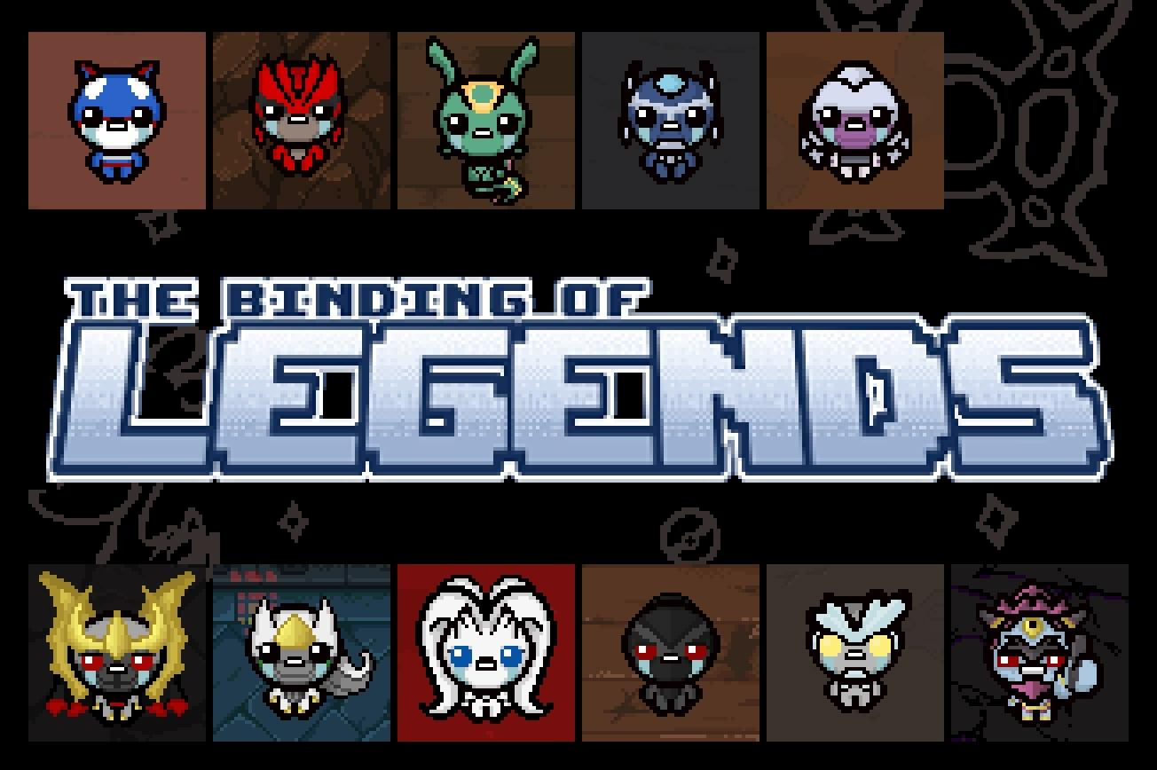 The Binding Of Legends Modding Of Isaac